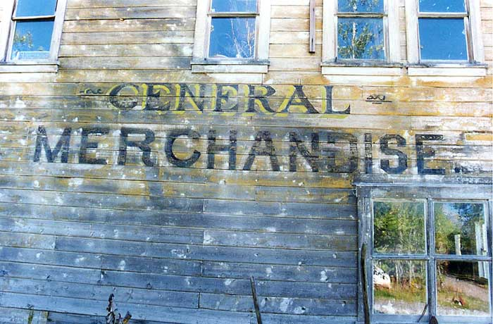 Old R.L.H. Marshall's general store