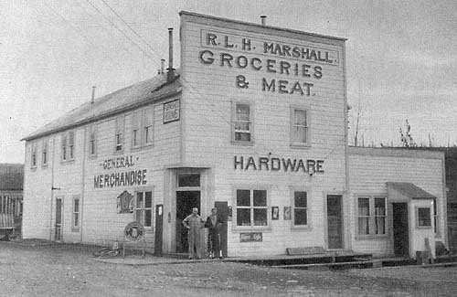 R.L.H. Marshall's general store, McCarthy