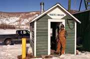 Nenana Ice Classic watchman